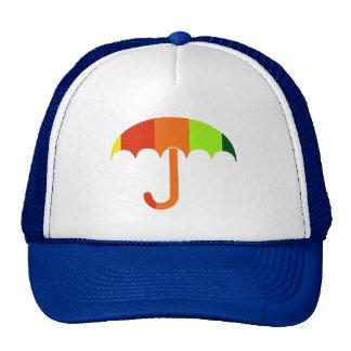 Rainbow Umbrella Cap