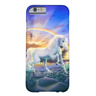 Rainbow Unicorn Barely There iPhone 6 Case
