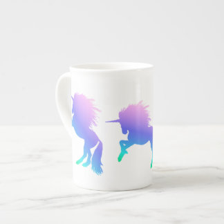 Rainbow Unicorn Bone China Mug