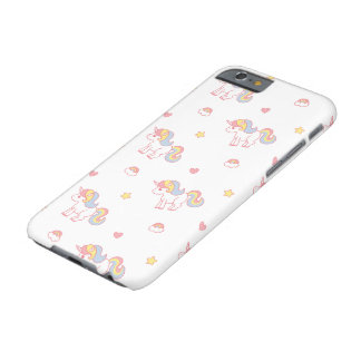 Rainbow Unicorn by Yokute Barely There iPhone 6 Case