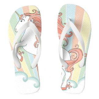 Rainbow Unicorn Flip Flop/ sandals