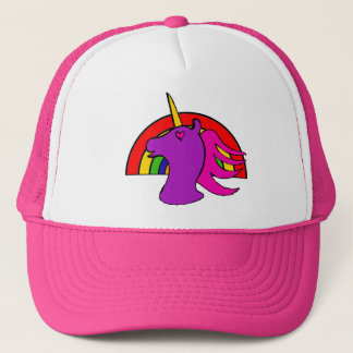 Rainbow Unicorn Hat
