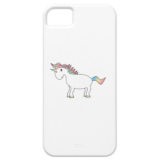 Rainbow unicorn iphone 5 case
