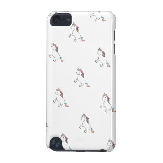 Rainbow unicorn iPod touch (5th generation) case