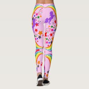 4120f9a4e9fb3 Women's Pastel Rainbow Leggings & Tights | Zazzle UK
