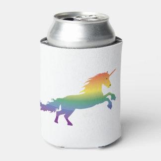 Rainbow Unicorn lgbt Can Cooler