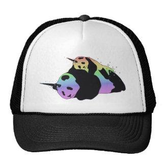 Rainbow Unicorn Pandas Magic Sparkle Cuddle Cap