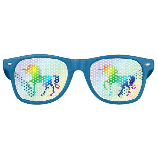 Rainbow Unicorn Party Shades