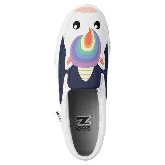 Rainbow Unicorn Slip-On Shoes