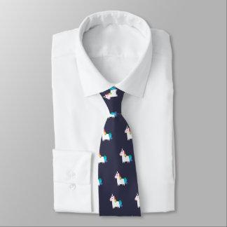 Rainbow Unicorn Tie