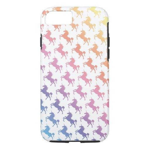 Rainbow Unicorns iPhone Case
