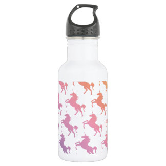 Rainbow Unicorns.pdf 532 Ml Water Bottle