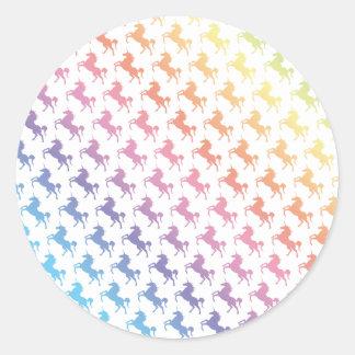 Rainbow Unicorns Stickers