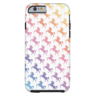 Rainbow Unicorns Tough iPhone 6 Case