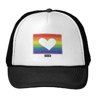 Rainbow Unity Heart Cap