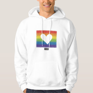 Rainbow Unity Heart Hoodie