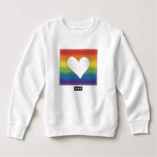 Rainbow Unity Heart Sweatshirt