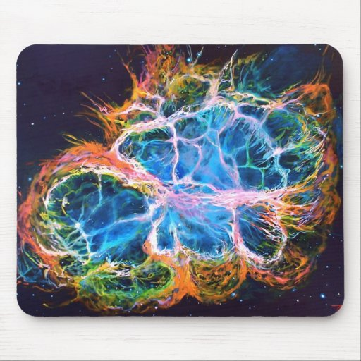 """Rainbow Universe"" mouse pad"