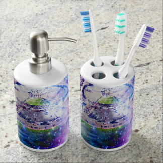 Rainbow Universe Paris Bathroom Set