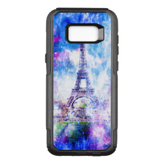 Rainbow Universe Paris OtterBox Commuter Samsung Galaxy S8+ Case
