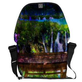 Rainbow Universe's Pathway to Paradise Commuter Bags