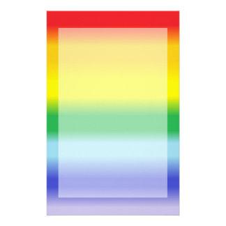 Rainbow v1 stationery paper