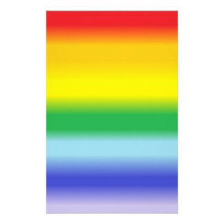Rainbow v1 stationery paper