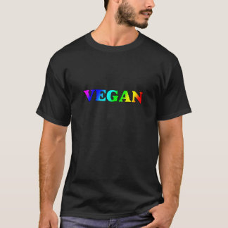 Rainbow Vegan T-Shirt