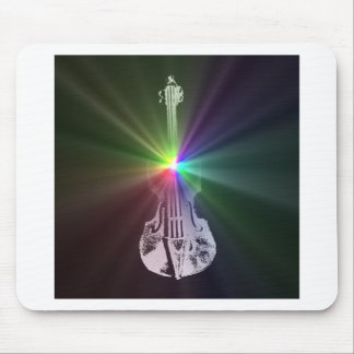 Rainbow Violin Mouse Mat