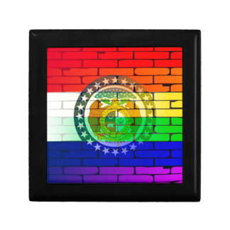 Rainbow Wall Missouri Gift Box