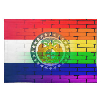 Rainbow Wall Missouri Placemat