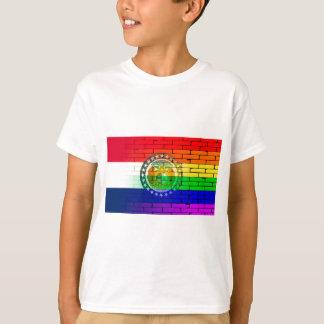 Rainbow Wall Missouri T-Shirt