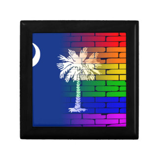 Rainbow Wall South Carolina Gift Box