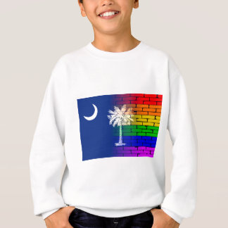 Rainbow Wall South Carolina Sweatshirt