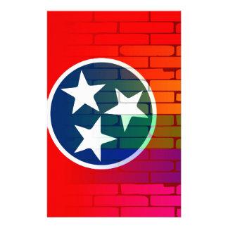 Rainbow Wall Tennessee Customised Stationery