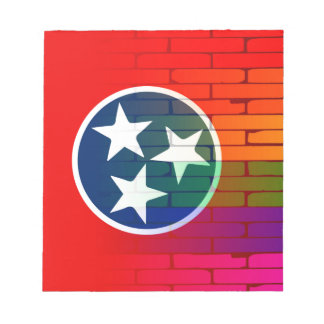 Rainbow Wall Tennessee Notepads
