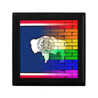 Rainbow Wall Wyoming Gift Box