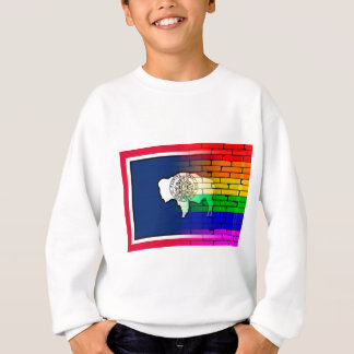 Rainbow Wall Wyoming Sweatshirt