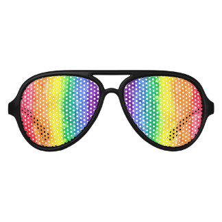 Rainbow Wash Party Shades