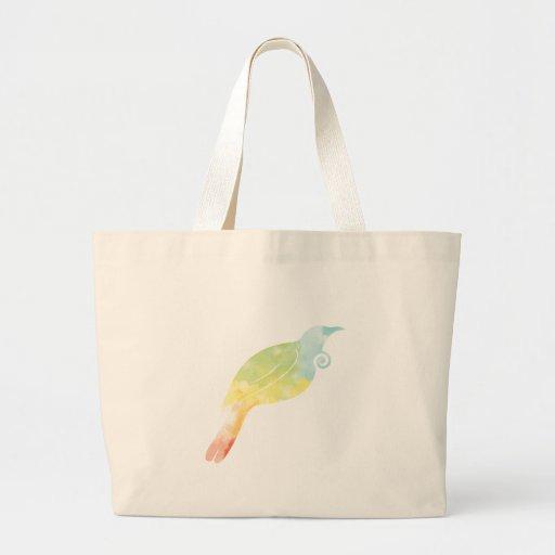 Rainbow Water Colour Tui Bag