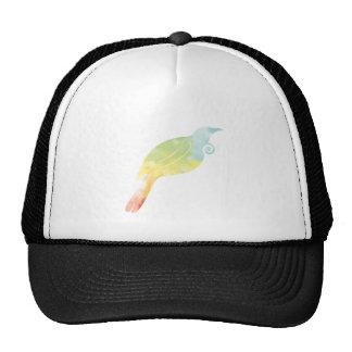 Rainbow Water Colour Tui Cap