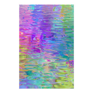 Rainbow Water Reflection Stationery