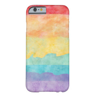 Rainbow Watercolor LGBT Pride Barely There iPhone 6 Case