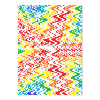 Rainbow Waves Card