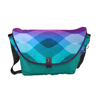 Rainbow Waves Courier Bags