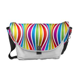 Rainbow Waves Messenger Bag