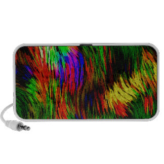 Rainbow Waves. Travelling Speaker