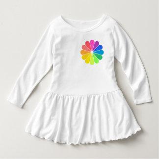 Rainbow Wheel Dress