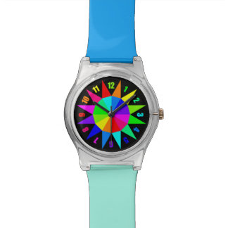 Rainbow Wheel Watch