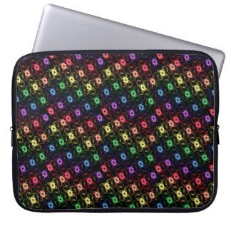 Rainbow Windmills Laptop Case